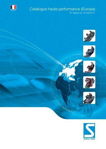 Catalogue haute performance (Europe) - Sutton Tools