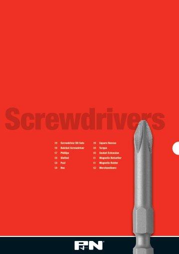 56 Screwdriver Bit Sets 56 Ratchet Screwdriver 57 ... - Sutton Tools