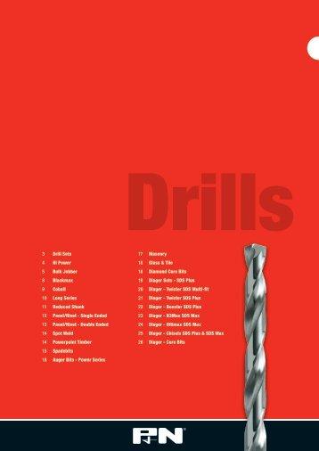 3 Drill Sets 4 Hi Power 5 Bulk Jobber 8 Blackmax 9 ... - Sutton Tools