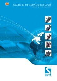 Catálogo de alto rendimiento para Europa - Sutton Tools