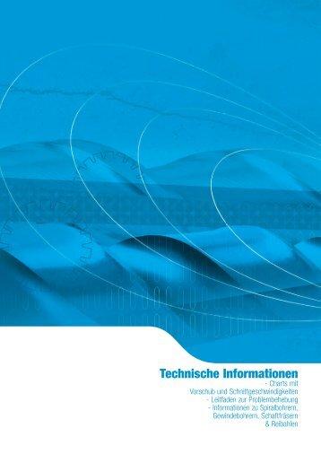 Technische Informationen - Sutton Tools
