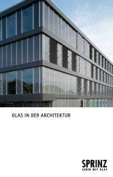 GLAS IN DER ARCHITEKTUR - Herm. Fichtner Hof GmbH