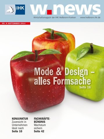 Mode & Design | w.news 09.2014