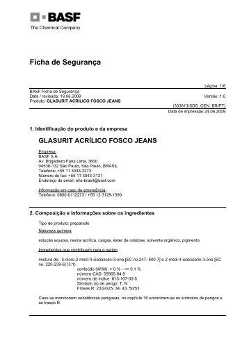 Glasurit Acrílico Fosco Jeans - Suvinil