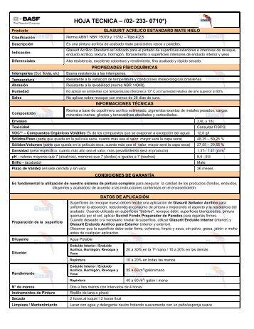Glasurit Máxima Eficiencia Hielo - 55 KB - Suvinil