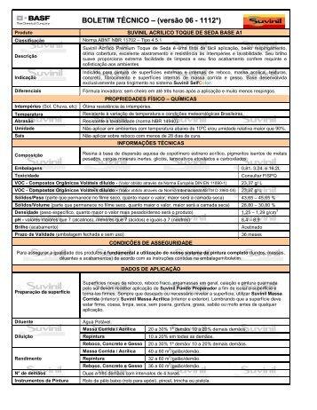 Suvinil Acrílico Premium Toque de Seda Base A1