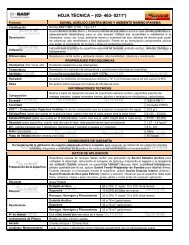 HOJA TÉCNICA – (02- 463- 0211*) - Suvinil