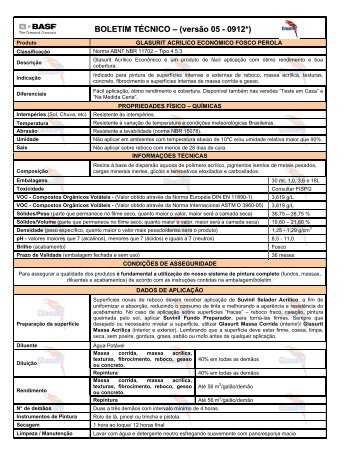 Glasurit Acrílico Econômico Pérola - 65 KB - Suvinil