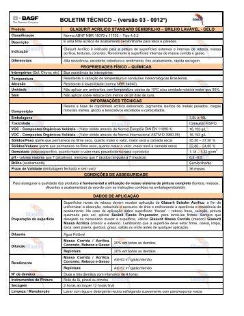 Glasurit Brilho Lavável Gelo - 59 KB - Suvinil