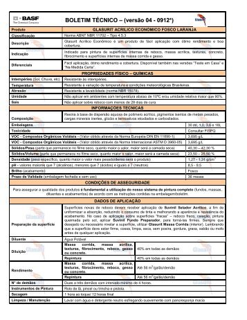 Glasurit Acrílico Econômico Laranja - 65 KB - Suvinil