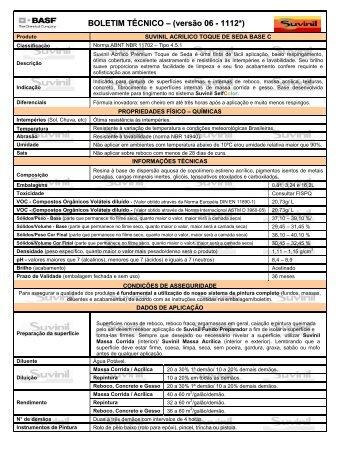 Suvinil Acrílico Premium Toque de Seda Base C