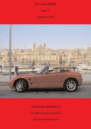 Issue 19 - Suzuki Cappuccino Owners Register for Enthusiasts