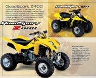 QuadSport Z400 - Suzuki