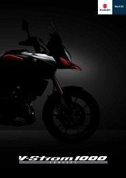 CONCEPT: V-Strom 1000 ABS - Suzuki