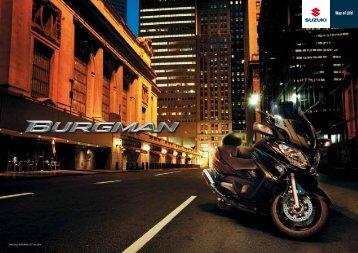 Abbildung: BURGMAN 650 Executive - Suzuki