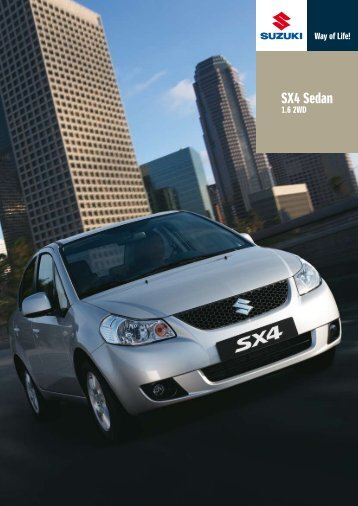 SX4 Sedan - Suzuki