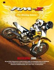 motocross 2008. - Suzuki