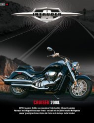 cruiser 2008. - Suzuki
