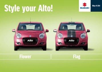 Style your Alto! - Suzuki