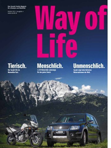 Way of Life Frühling 2015 | Ausgabe 10