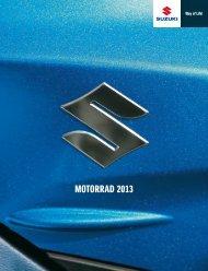 MOTORRAD 2013 - Suzuki