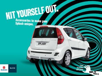 Splash Accessory brochure September 2012 - Suzuki