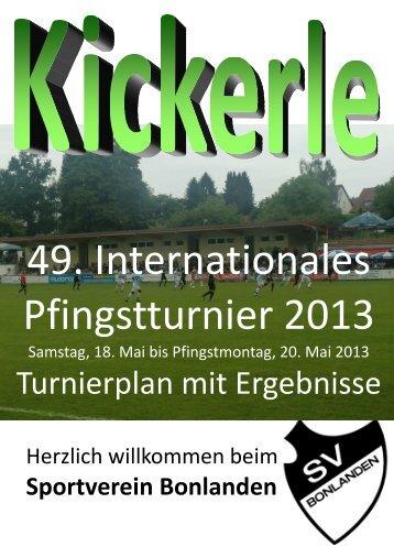 Kickerle Entwurf 64 Seiten - SV Bonlanden