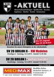 10. Ausgabe vom 12.05.2013 (PDF 6,80MB) - SV 20 Brilon