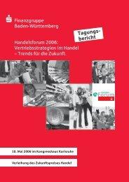 Tagungs- bericht - Sparkassenverband Baden-Württemberg