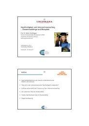 Nachhaltigkeit und Unternehmenserfolg - Zusammenhänge und Beispiele