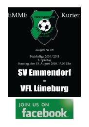 SV Emmendorf - VFL Lüneburg