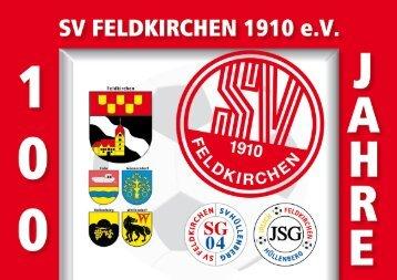 6.Teil (Umschlag) - SV Feldkirchen 1910