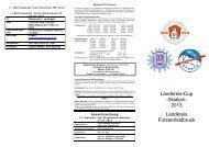 Reglement für Kreiscup - Sportverein Germering