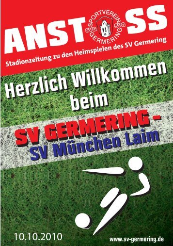 9. Spieltag: SVG - SV Germering