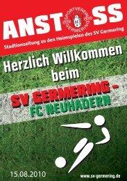 1. Spieltag: SVG - FC Neuhadern