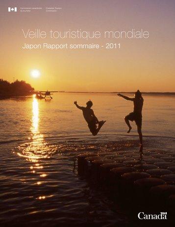Lisez le rapport sommaire de la Veille touristique mondiale 2011 ...