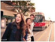 Caractéristiques des voyages - La Commission canadienne du ...