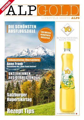 ALPGOLD Magazin Herbst 2014