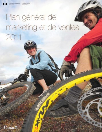 Plan général de marketing et de ventes 2011 - La Commission ...