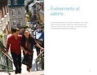 3.4 Événements et salons - La Commission canadienne du tourisme ...