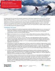 Synthèse des résultats de recherche - La Commission canadienne ...