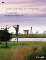 2011 - La Commission canadienne du tourisme - Canada