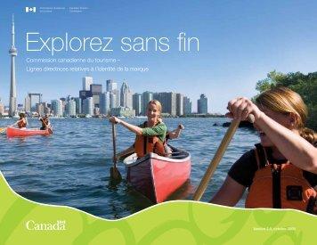 Explorez sans fin - La Commission canadienne du tourisme - Canada