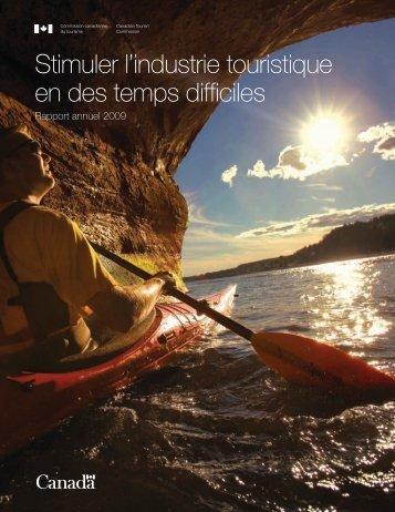 Rapport annuel - La Commission canadienne du tourisme - Canada