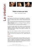 dossier de vente complet PETITE TE LAISSE PAS FAIRE - Pantheatre - Page 3