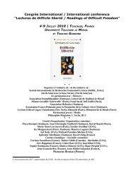 International conference - Société Internationale de Recherche ...