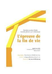 brochure - Société Internationale de Recherche Emmanuel Levinas