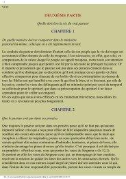 DEUXIÈME PARTIE CHAPITRE 1 CHAPITRE 2