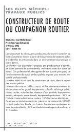 Clip 16 -Constructeur route - Lesite.tv pour tous