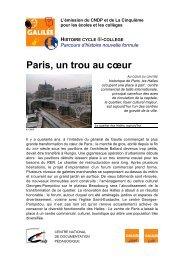 Paris, un trou au cœur - Lesite.tv pour tous
